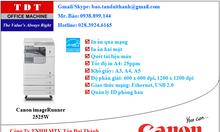 Máy Photocopy Canon IR 2525W giá rẻ - Master Dealer Canon VN
