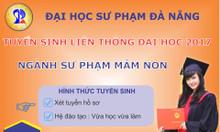 Tuyển sinh liên thông đại học sư phạm Đà Nẵng ngành sư phạm mầm non