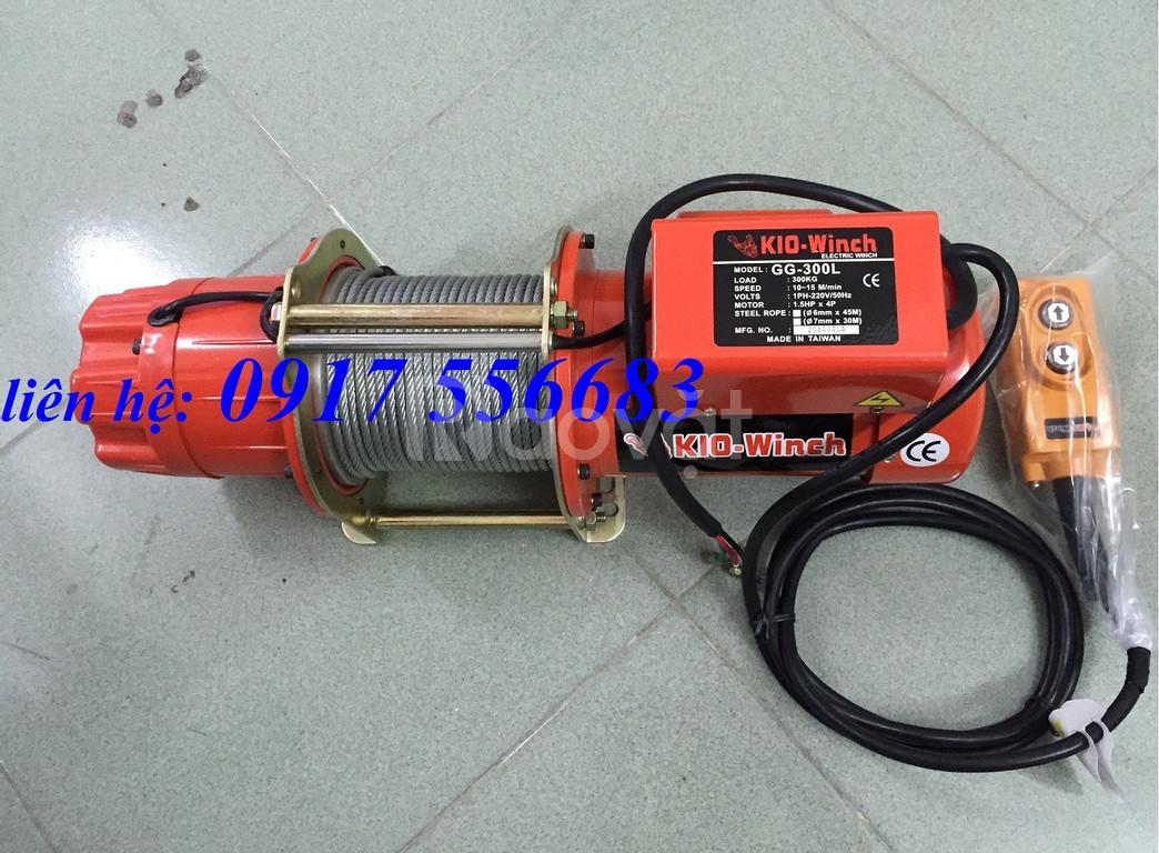 Tìm nhà phân phối tời điện Kio Đài Loan GG-300L