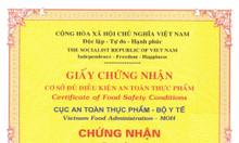 Xin giấy phép vệ sinh an toàn thực phẩm tại Thủ Dầu Một