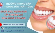 Hồ sơ học chứng chỉ kỹ thuật viên Nha khoa răng hàm mặt cần những gì?