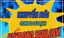 Khuyến mãi vé tàu đi đảo Koh Rong dịp tết 2018