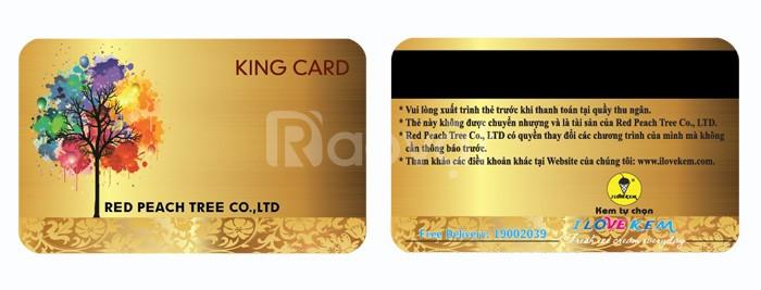 In thẻ vip,thẻ chấm công,thẻ giảm giá,thẻ khuyến mãi,thẻ từ giá rẻ