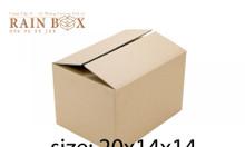 Thùng carton kích thước 20*14*14
