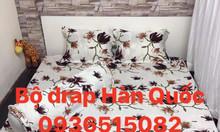 Thanh lý bộ Drap cotton Poly Hàn Quốc 120k
