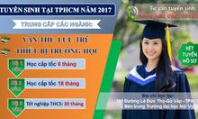 Văn thư lưu trữ trung cấp tại TPHCM