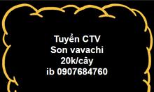 Tuyển ctv son Vavachi
