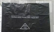 Túi rác đen y tế, bao đựng chất thải y tế màu đen có in logo
