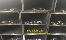 Thép hộp 50x100, hộp nhập khẩu 50x100x1.5li, 50x100x2.5li
