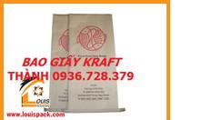 Bao giấy Kraft, Bao Giấy 25Kg, Bao Giấy 40Kg, Bao Giấy 50Kg