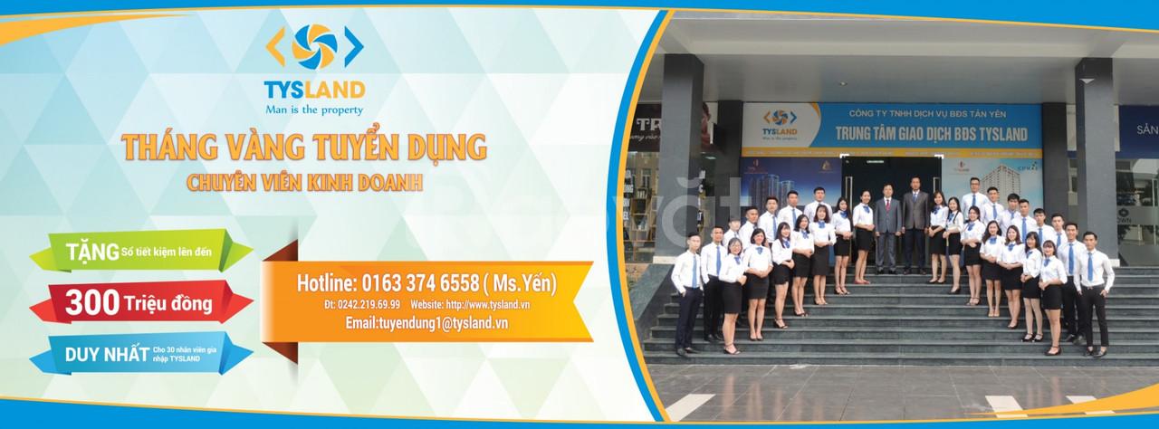 Cần tuyển 10 NVKD BĐS làm việc tại Hà Nội