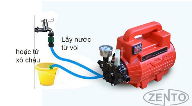 Máy bơm xịt - rửa xe áp lực cao Zento C19