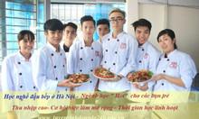 Học nghề đầu bếp cấp nhanh bằng trung cấp, chứng chỉ tại Hà Nội