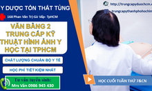 Trung cấp chẩn đoán hình ảnh y học văn bằng 2 tại TPHCM