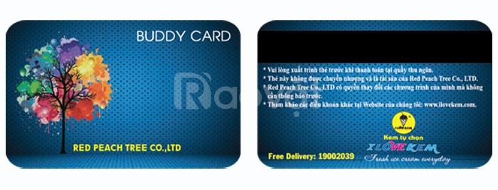 Nhận in thẻ vip, thẻ mã vạch,thẻ hội viên, thẻ giảm giá, hỗ trợ thiết kế
