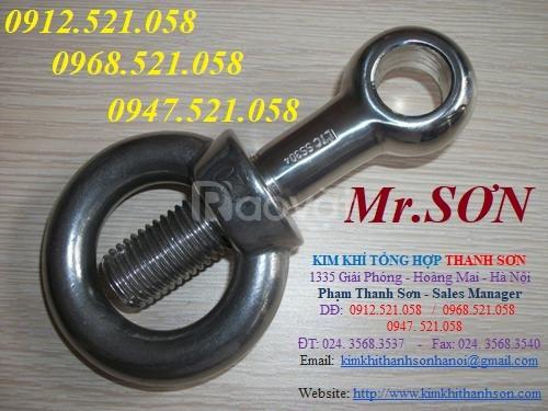 Đai ốc móc cẩu M56, bu lông vòng móc cẩu M48,M56,M64