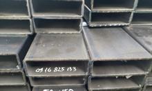 Hộp 50x150 Trung Quốc, thép hộp 50x150, đen,kẽm 50x150x3, 50x150x3.5