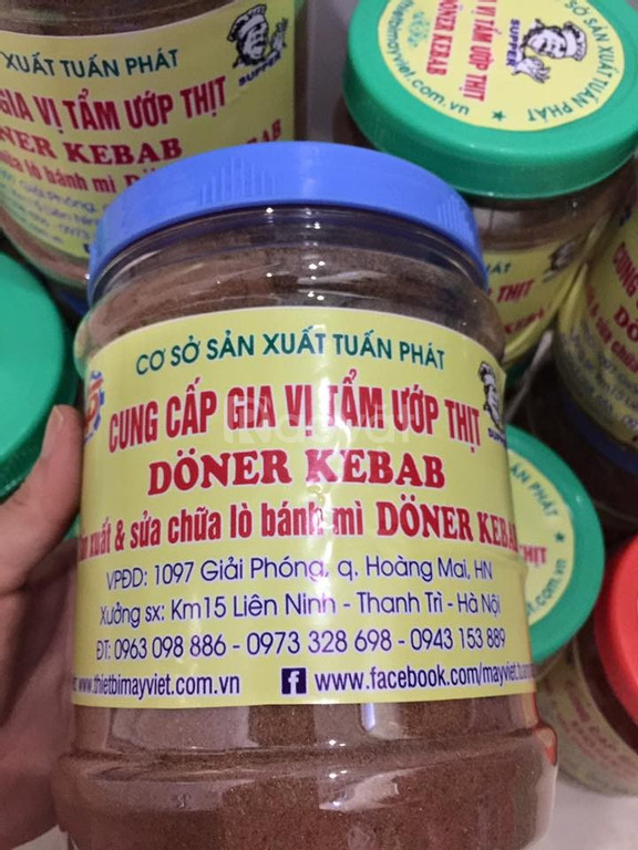 Bột gia vị tẩm ướp thịt Doner Kebab tại Hà Nội