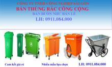 Cung cấp số lượng lớn giá sỉ thùng rác 660 lít tại Cần Thơ