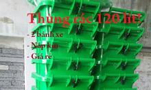 Thanh lý số lượng lớn thùng rác 240 lít giá rẻ - 0911082000