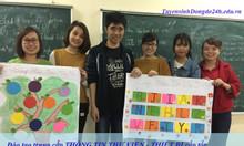 Đào tạo trung cấp thư viện chỉ 6 tháng cấp bằng tại Hà Nội