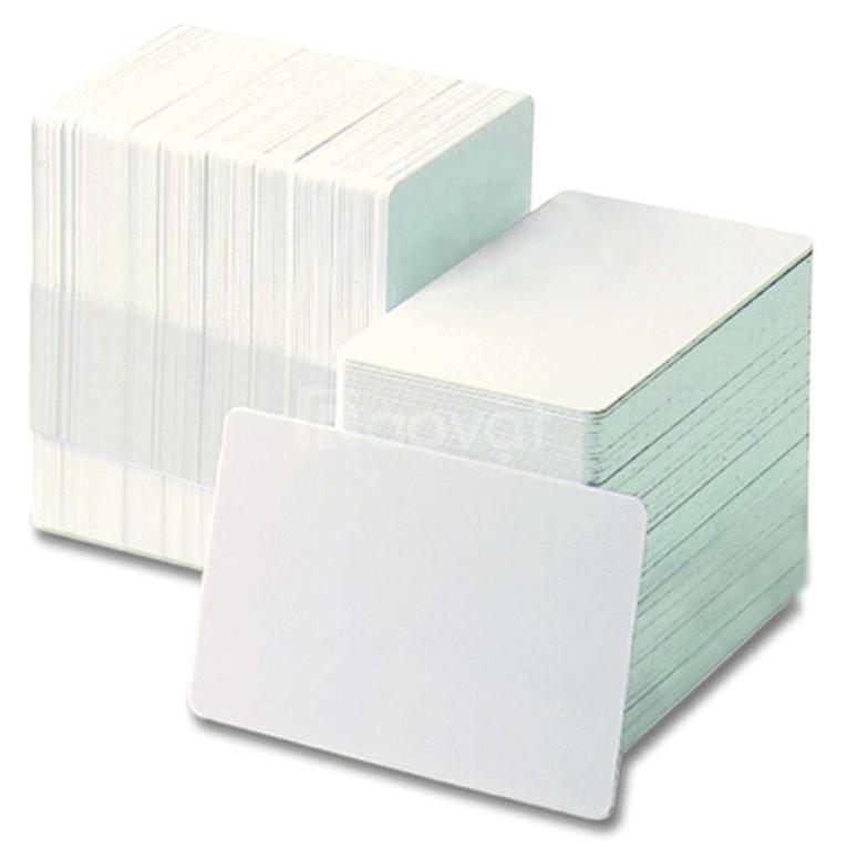 Phôi thẻ nhựa trắng pvc  trong quản lý ra vào