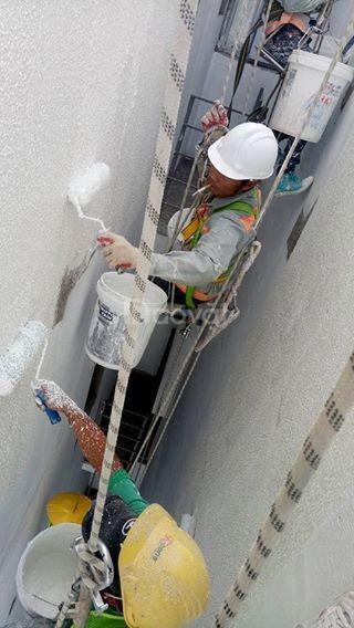 Dây đu sơn nước - thiết bị đu dây sơn nước tại Sài Gòn