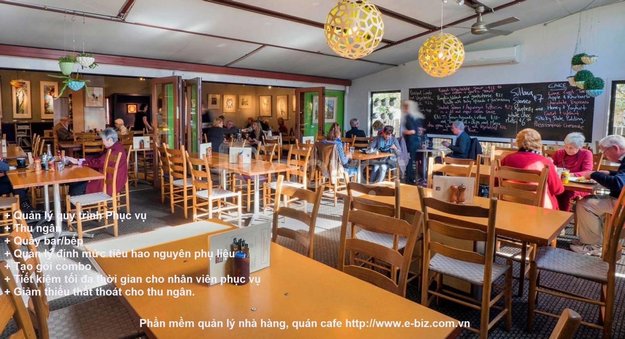 Phần mềm quản lý nhà hàng - quán cafe