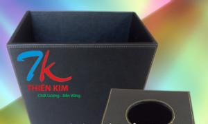 Hộp gỗ bọc da, hộp da làm quà tặng, sản xuất bìa sơ mi da, bìa da