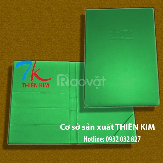 Nơi sản xuất bìa còng, bìa đựng hồ sơ, bìa menu da, bìa sổ còng giá rẻ