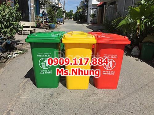 Thùng rác công cộng, thùng rác ngoài trời, thùng rác nhựa