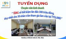 Tuyển 10 NVKD làm việc tại Thái Nguyên