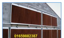 Hệ thống lắp đặt tấm làm mát cooling pad cho nhà xưởng