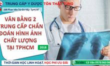 Học văn bằng 2 trung cấp chẩn đoán hình ảnh TPHCM