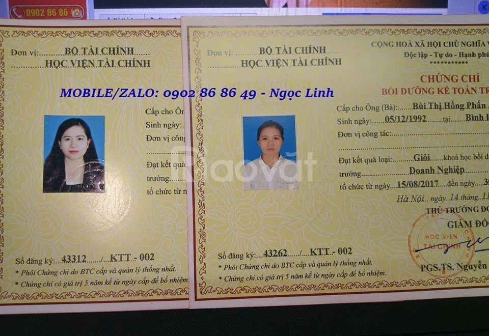 Học lớp kế toán trưởng doanh nghiệp tại Hồ Chí Minh