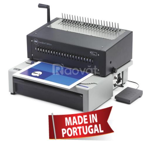 Máy đóng sách điện vòng nhựa công suất lớn GBC - C800 PRO