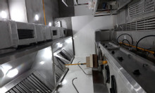 Bếp công nghiệp, máng hút khói, bếp hầm, bồn rửa công nghiệp