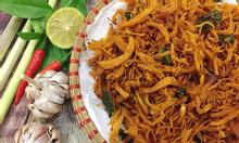 Khô gà lá chanh hảo hạng - khô gà Khánh Quỳnh