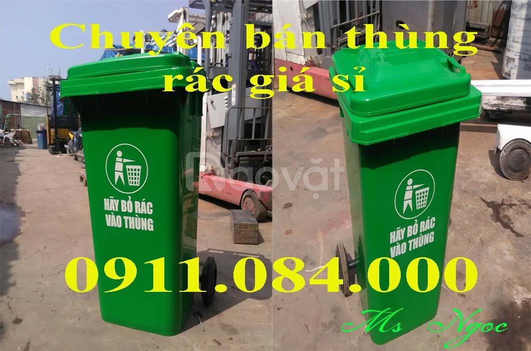 Giá thùng rác 240 lít – cung cấp thùng rác giá sỉ tại quận 11