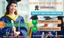 Đào tạo lớp quản lý giáo dục mầm non năm 2018
