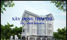 Thiết kế nhà phố, biệt thự, giá rẻ, lập dự toán công trình, vẽ 3d TPHCM