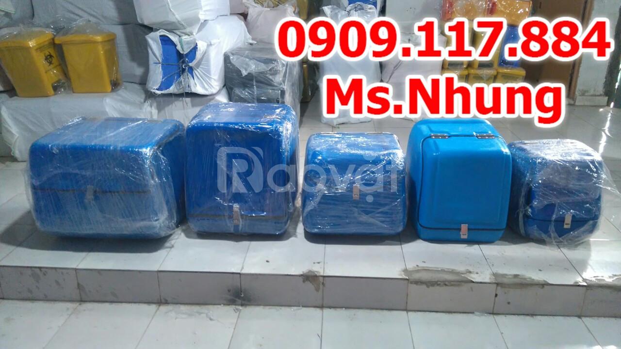 Thùng nhựa giao hàng, thùng nhựa shipper