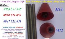 Bán cốc hồng, côn nhựa đỏ D12,14,16,17 cone thép chống thấm cốp pha