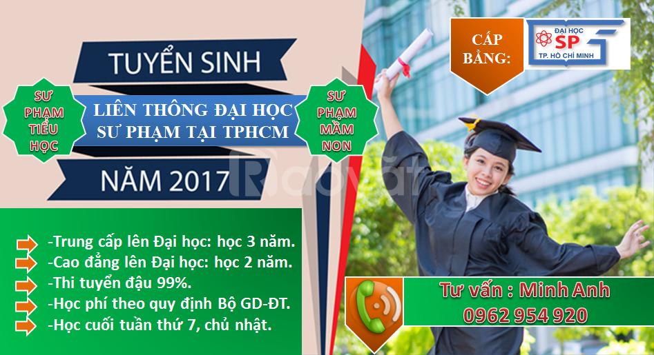 Liên thông đại học sư phạm tiểu học năm 2018