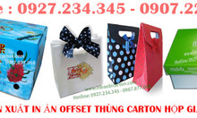 In lịch tết, in catalogue giá rẻ, thùng carton - hộp giấy in offset