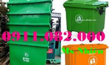 Cần bán thùng rác 660 lít giá rẻ Cà Mau