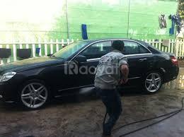 Cần tìm nv rửa xe, chăm sóc xe ô tô đi làm ngay
