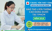 Đăng ký học liên thông Cao đẳng Dược 2018 tại TPHCM
