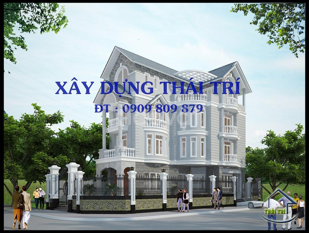 Thiết kế nhà phố, biệt thự, giá rẻ, đẹp, lập dự toán, quận 9,Thủ Đức