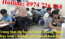 Địa chỉ học tin học văn phòng tốt Hà Nội